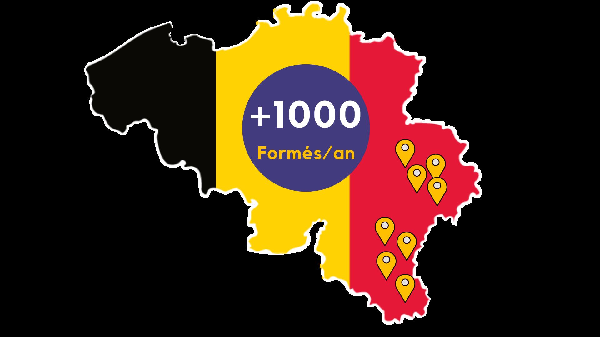 + de 1000 formés talenteo